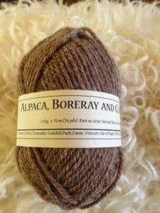 Pure Aran knitting wool